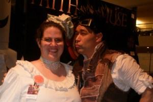 Mrs Bush and Captain Robert at Dragon Con